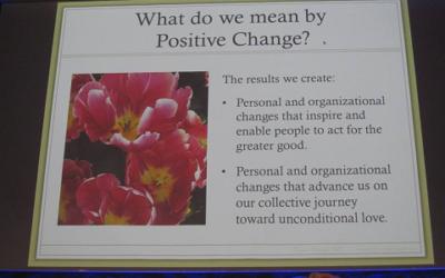 Inspiration of positive change